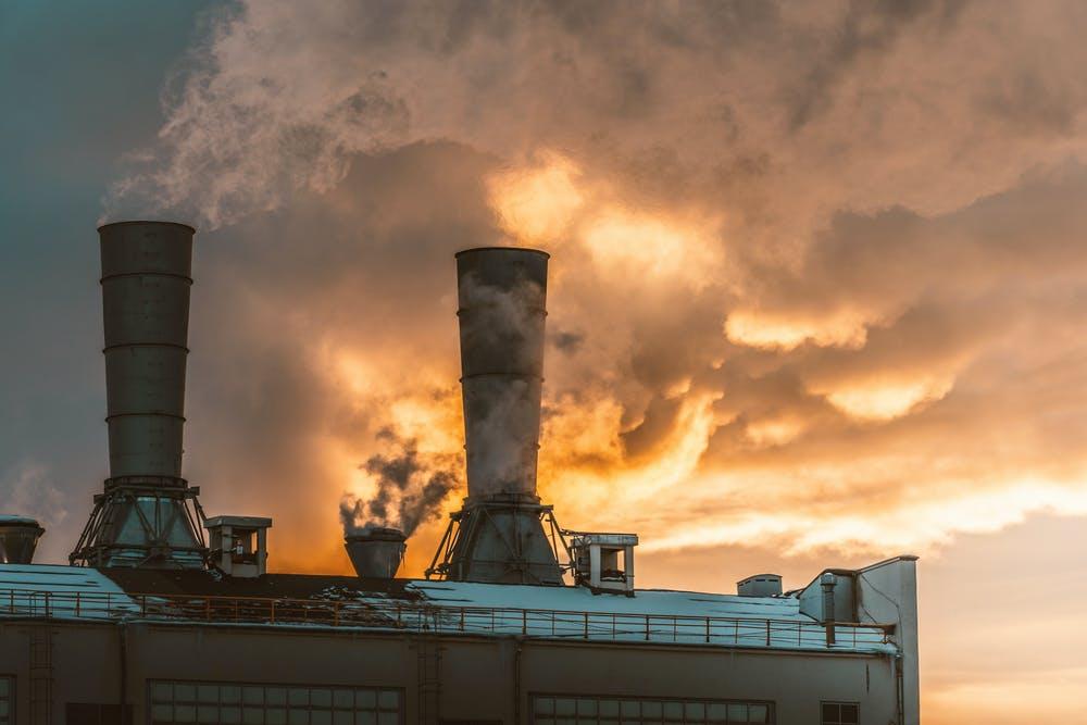 produksi industri gas