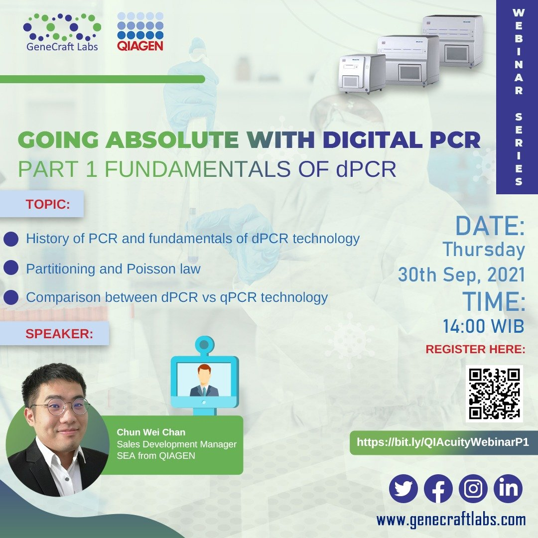 Going Absolute with Digital PCR Part I